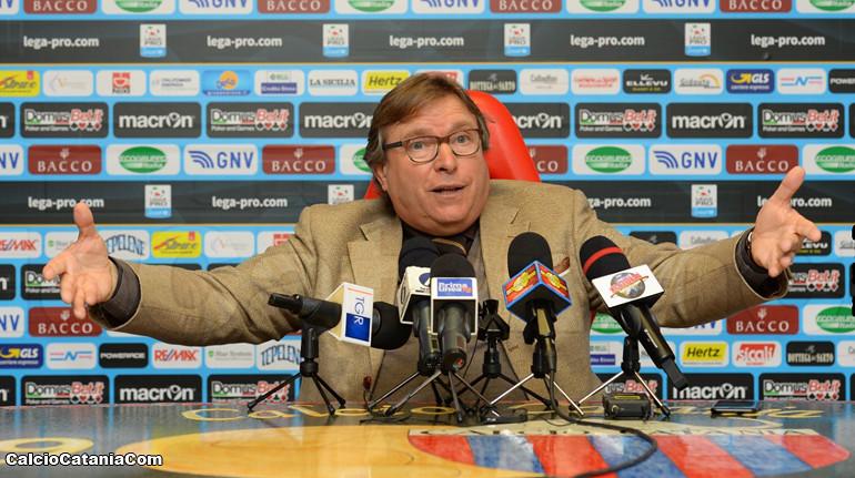 """Lo Monaco: """"Non lascerò morire il Catania"""""""
