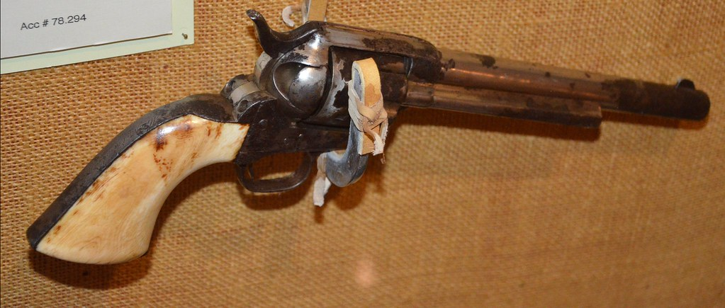 Morgan Earp's Revolver | Ralph Foster Museum at The ...