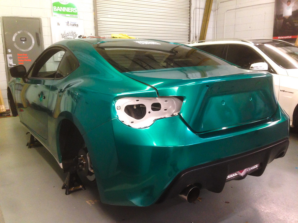 Emerald green metallic frs dark green pearl my car for Dark green paint job