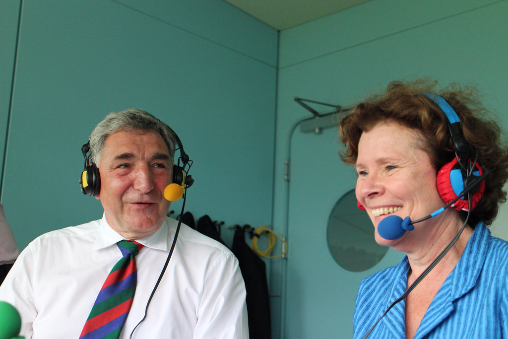 Jim Carter and Imelda Staunton join us at Lord's | Test ...
