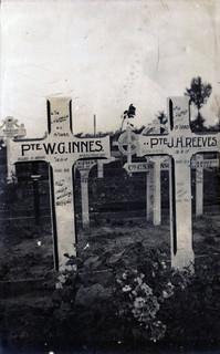 Sandy's photo of John Reeves' gravemarker