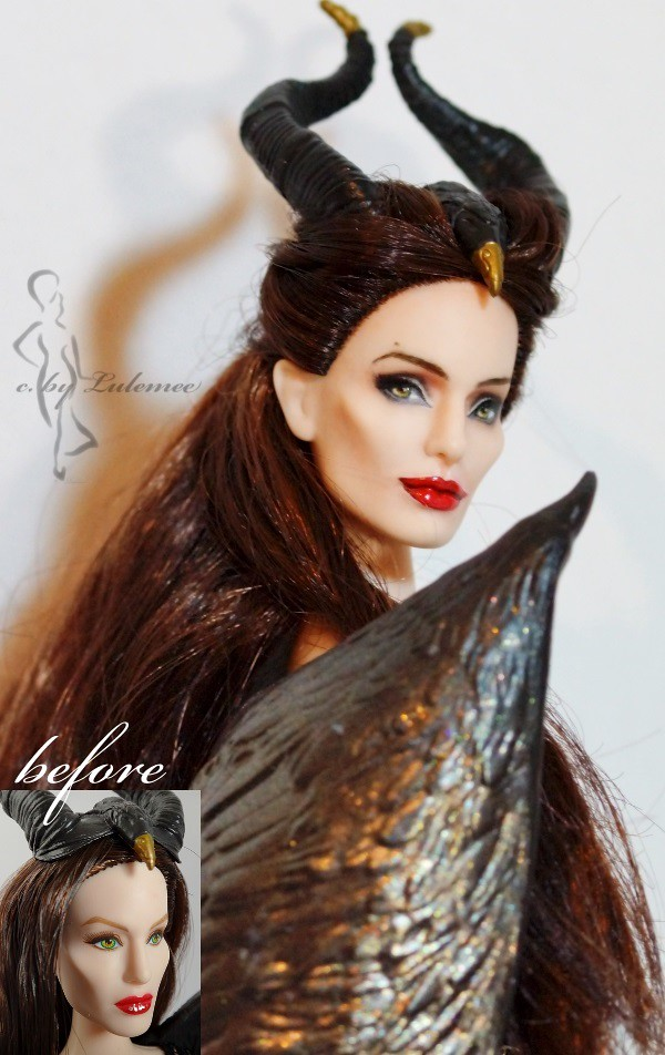 repainted maleficent and prince - photo #11