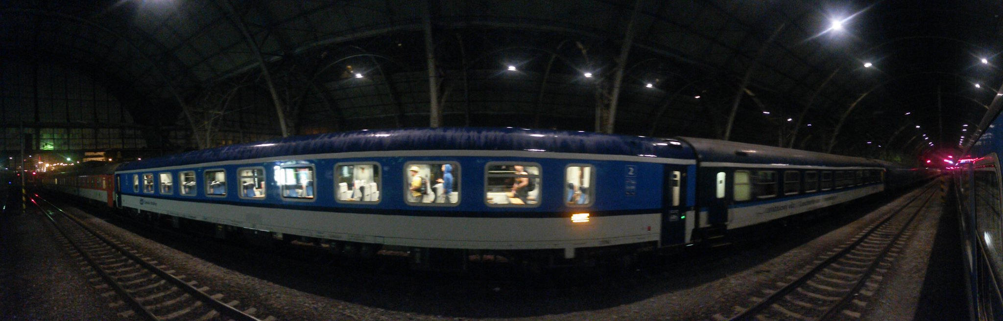 Euronight 477 Metropol From Praha hlavni nadraží to Budapest | by lukvalek