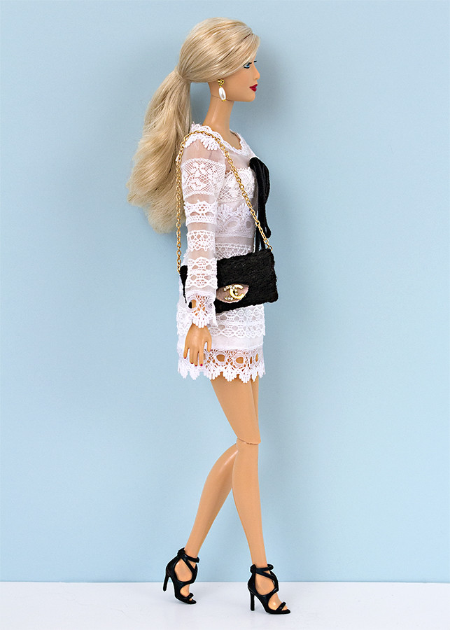 Barbie White lace dress