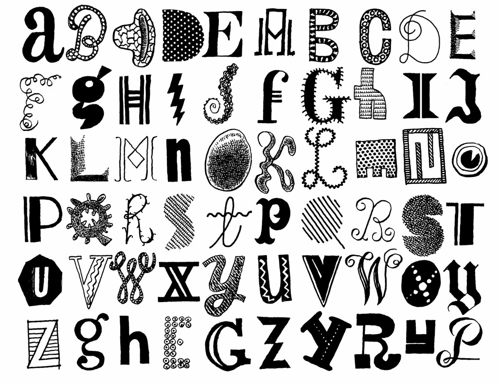 Letters 140 Letters Seen And Imagined In May 2014 Brush