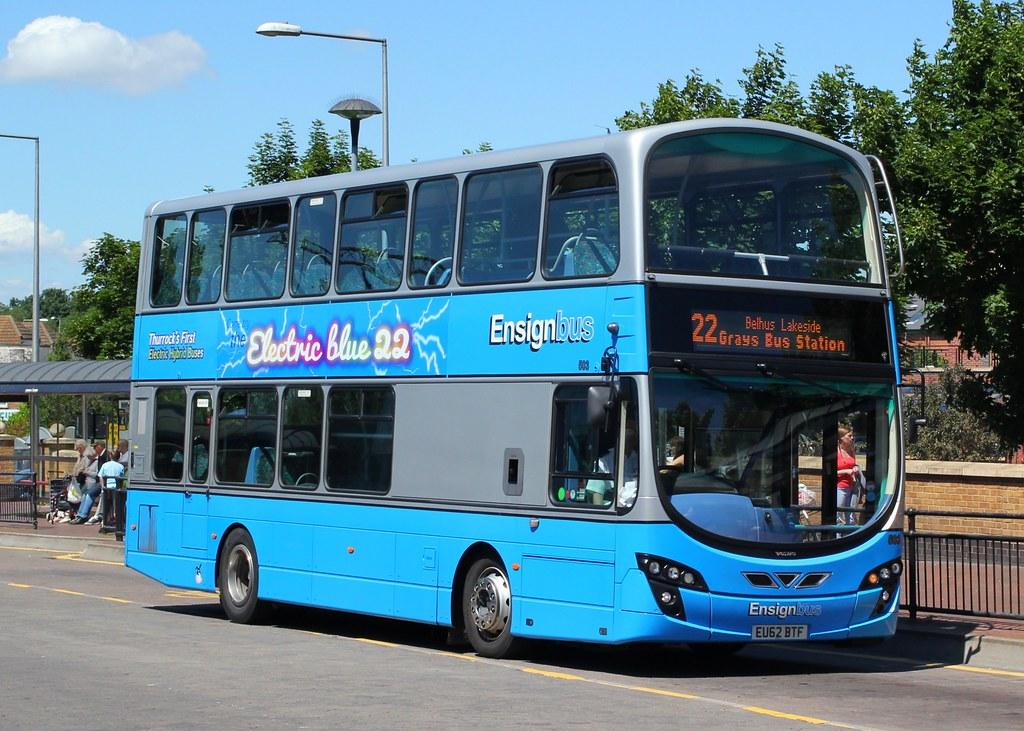 Ensign Bus Co Purfleet Essex 503 Eu62btf Grays Bus
