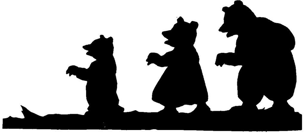 Image result for the three bears goldilocks