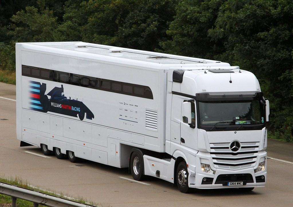 Mercedes Actros Mp4 Gn14 Wmc Eddie Stobart Williams F1