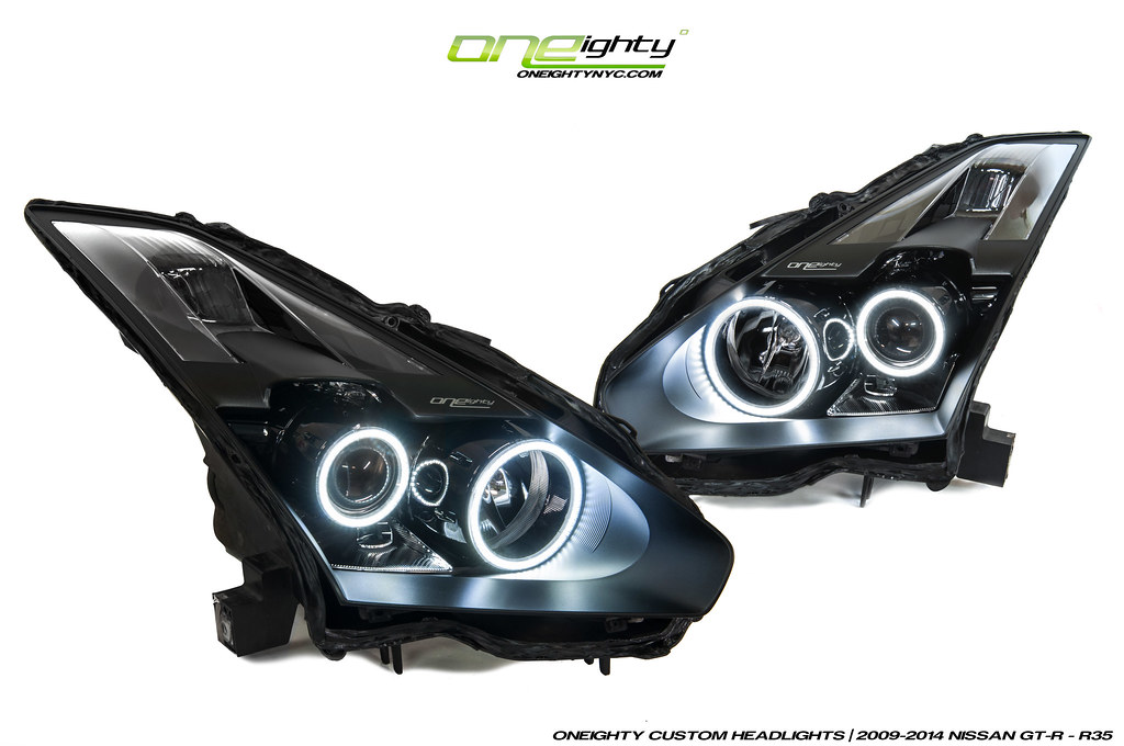 Nissan Gtr Custom >> Nissan GT-R R35 Custom Headlights by ONEighty | Setup we rec… | Flickr