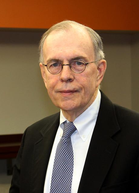 A portrait photograph of Auburn Professor James Barth.