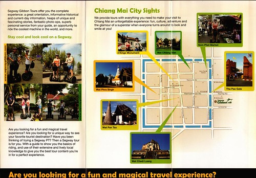 Brochure Segway Gibbon Chiang Mai Thailand 2
