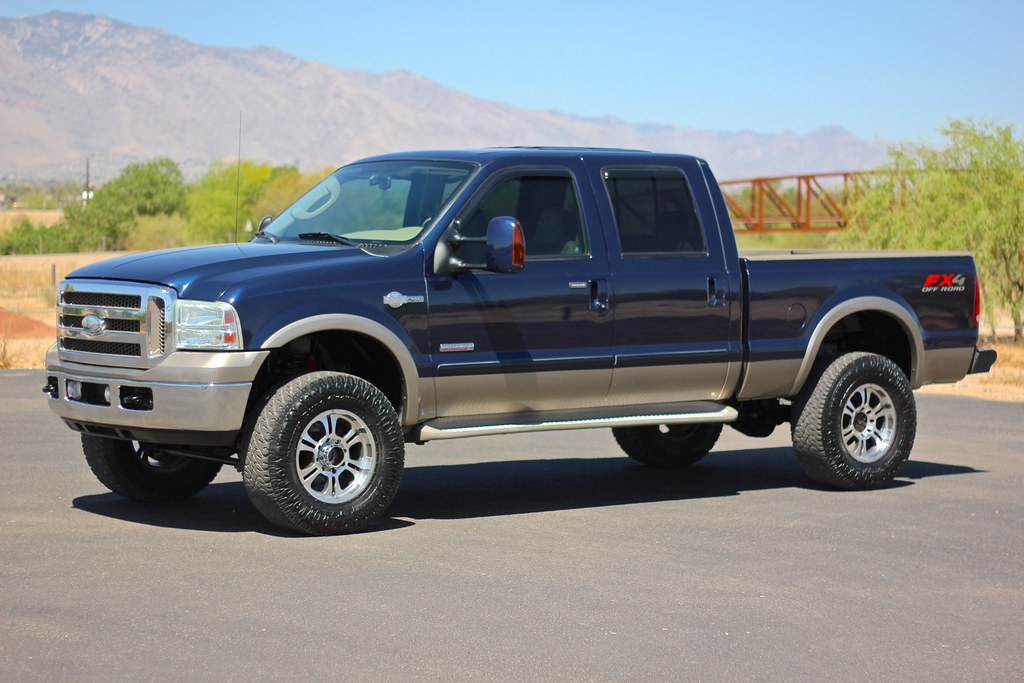 2007 ford f250 king ranch 4x4 diesel truck for sale. Black Bedroom Furniture Sets. Home Design Ideas