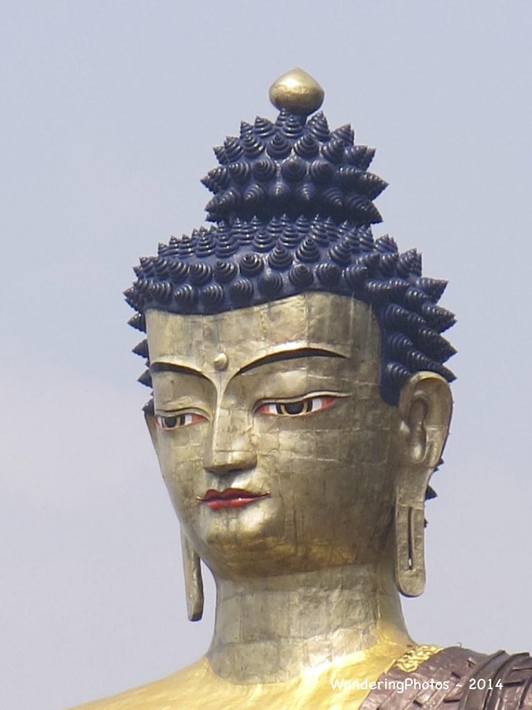Indian Buddha Statue Statue Face of Lord Buddha