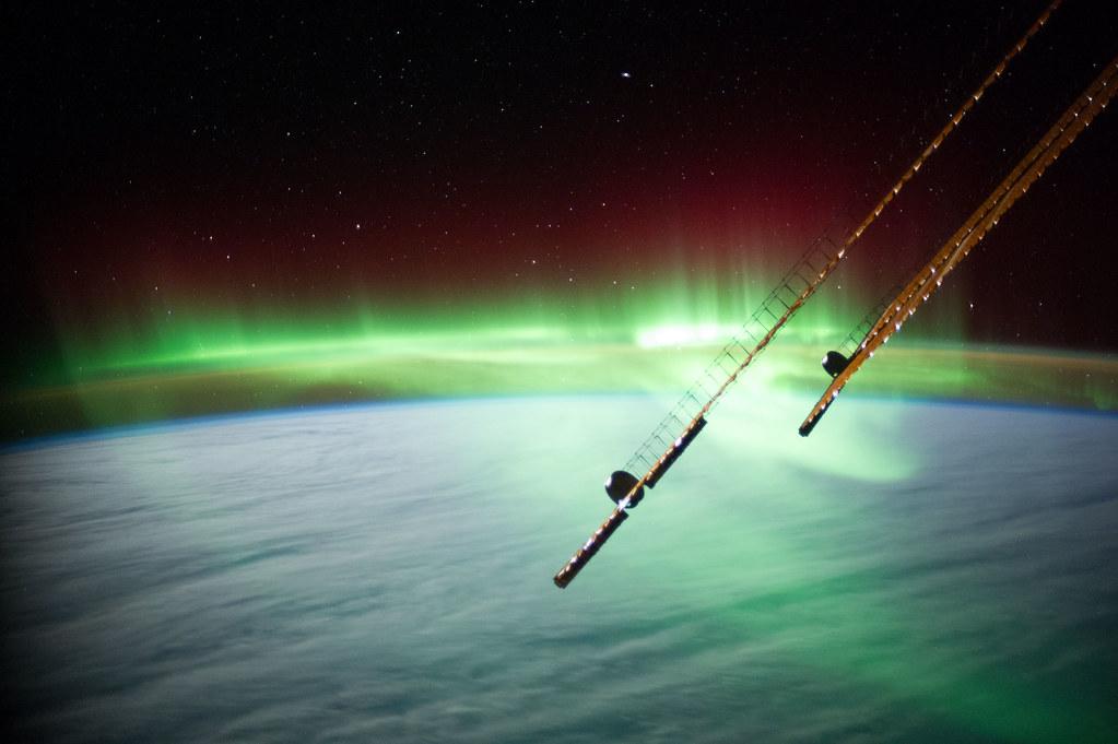 Aurora Near Australia Nasa International Space Station