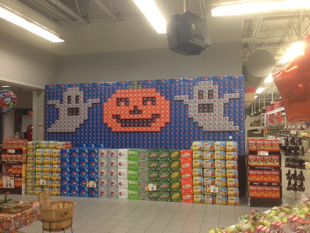 Pumpkin Pepsi Display   by