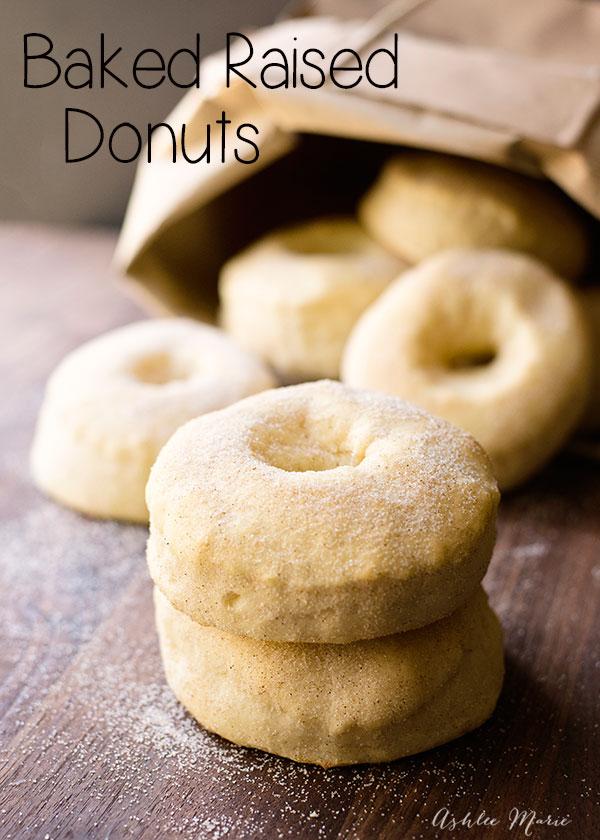 A basic yeast raised baked donut recipe