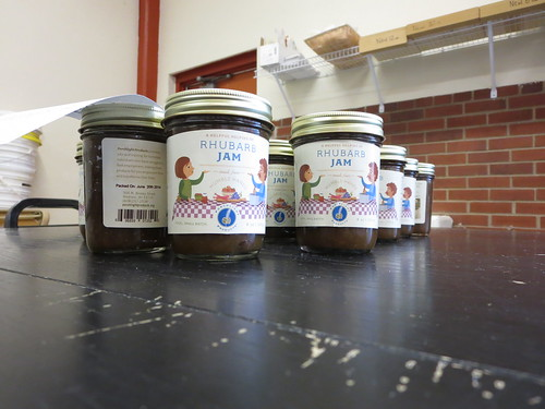 Porchlight Products rhubarb jam