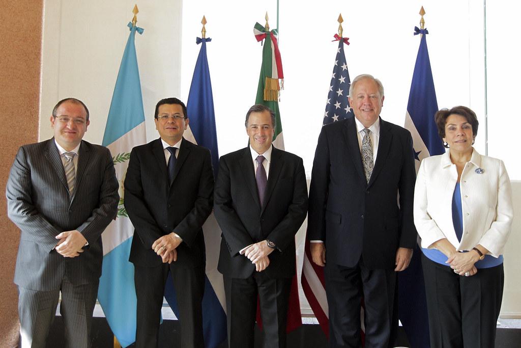 El Canciller Meade Se Re Ne Con Sus Hom Logos De Guatemala Flickr