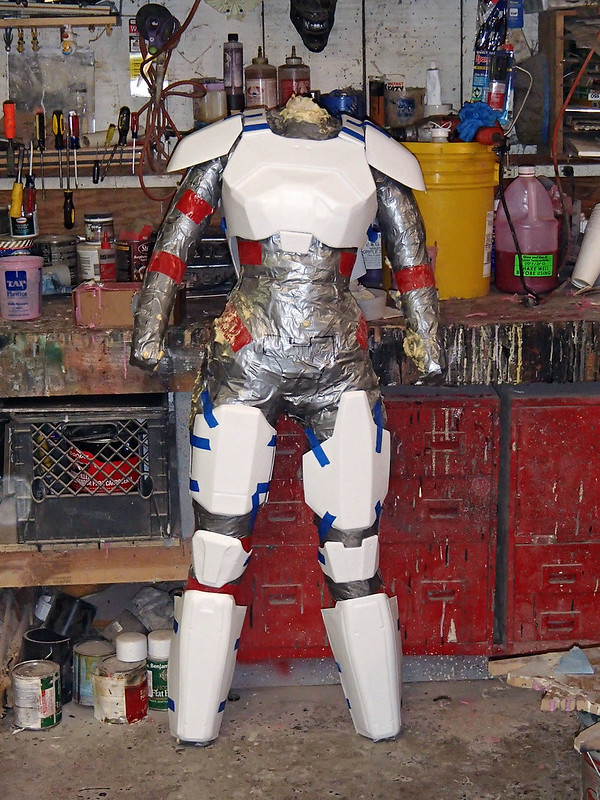 Shae Vizla Armor Parts Trimmed and Fitted