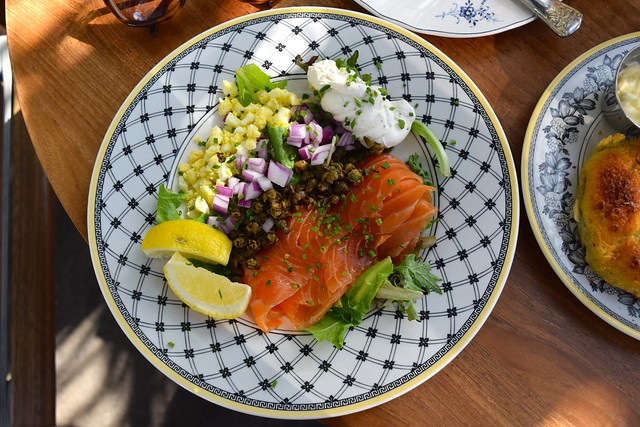 Smoked Salmon Plate at The Commissary