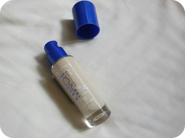 Rimmel Match Perfection Foundation Has A Pump Bottle