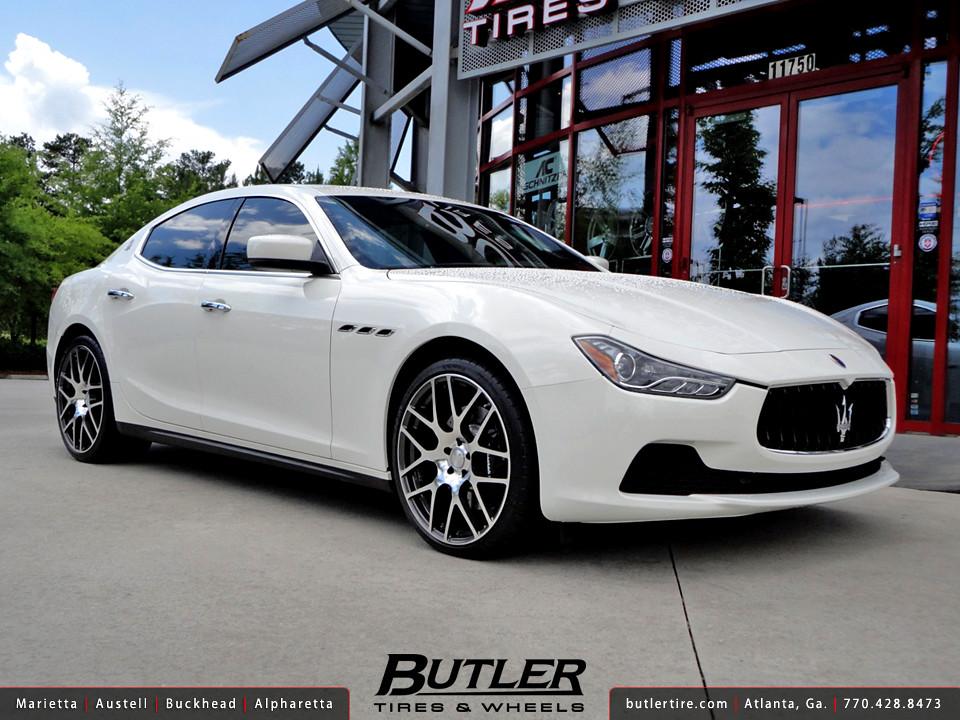 Honda Odyssey Forum >> Maserati Ghibli with 21in TSW Nurburgring Wheels ...