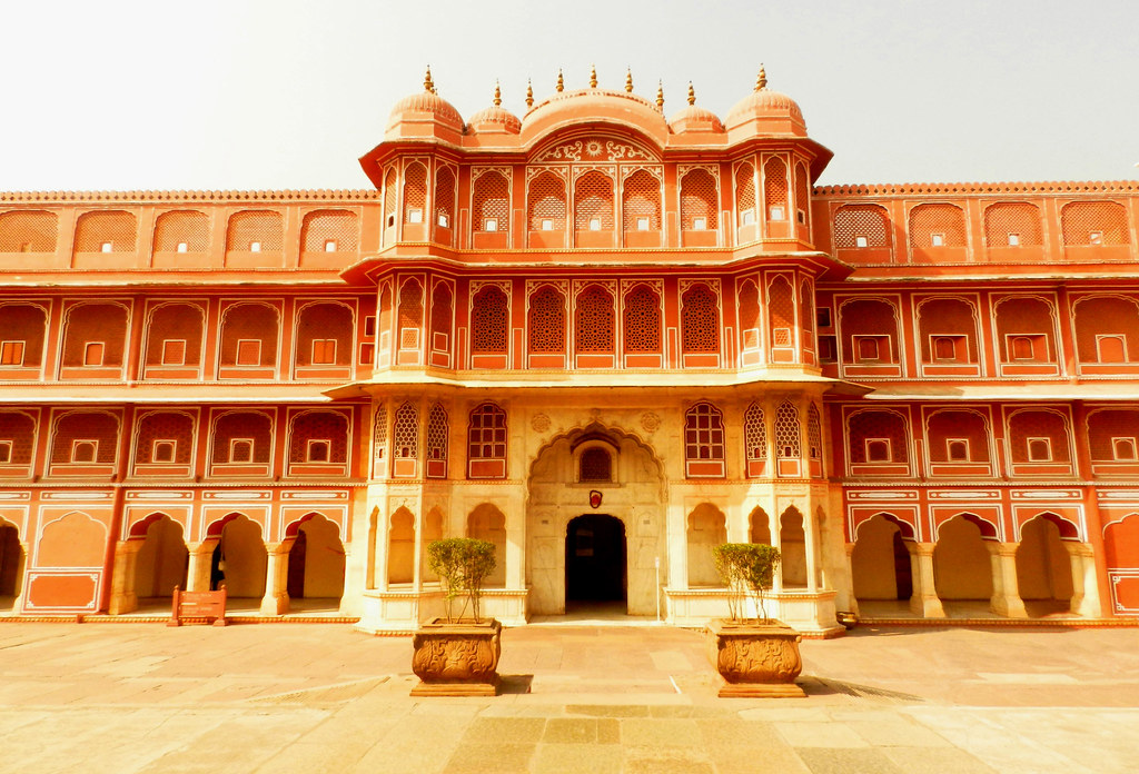 jaipur city palace, architecture, rajasthan
