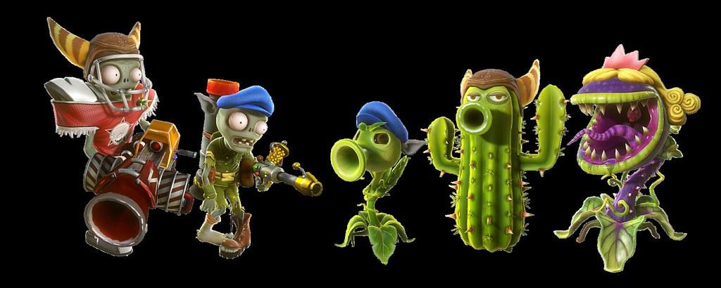 Plants vs zombies garden warfare ps4 playstation exclusiv - Plants vs zombies garden warfare 2 torchwood ...