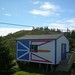 Newfoundland flag on my shed