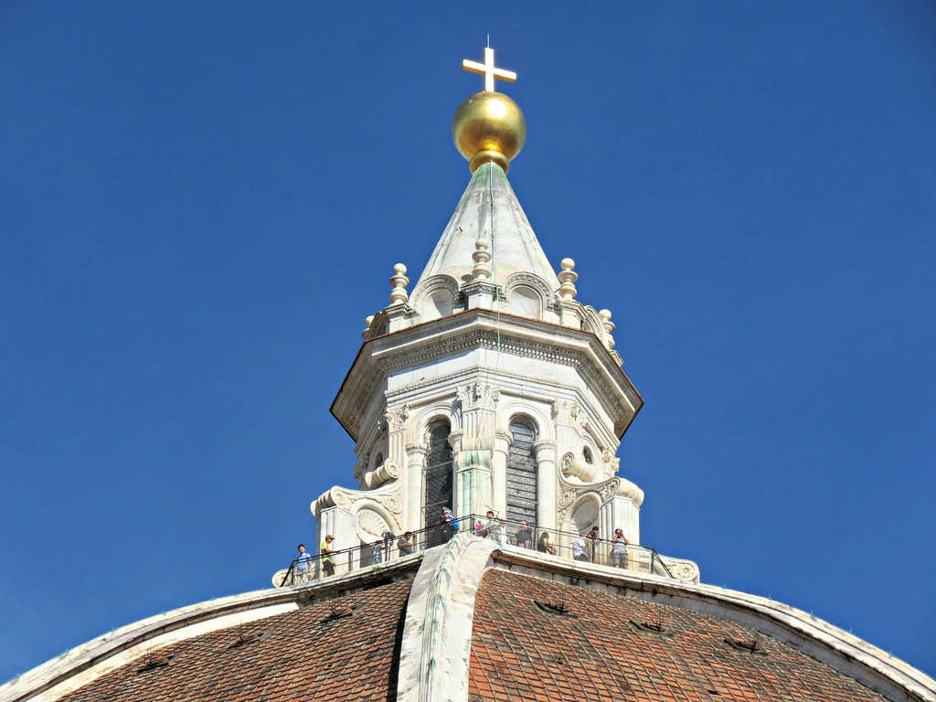Brunelleschi S Lantern Crowned With A Gilt Copper Ball And