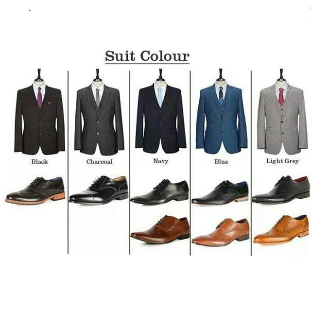 This Sheet Gives You The Basic On Suit Leather Combination