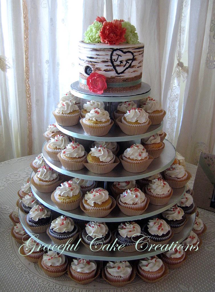 Tree Wedding Cake Topper