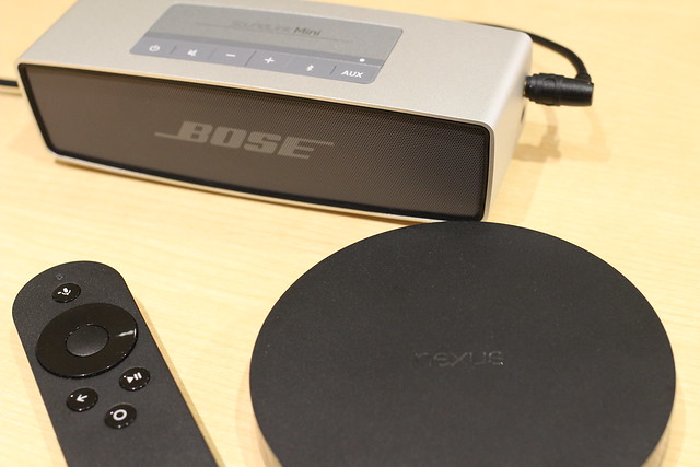 BOSE SoundLink Mini speeker with Nexus Player
