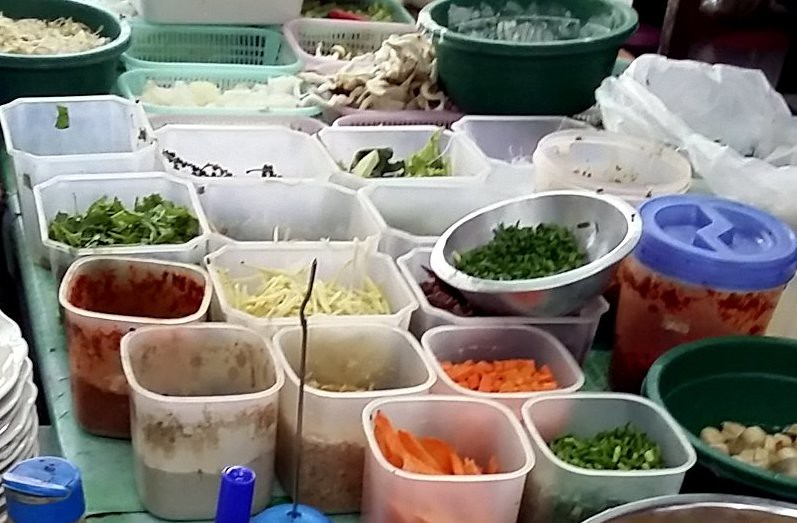 Thai Food Station Albertville Carte