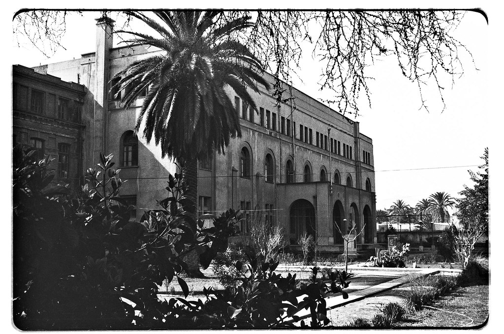 Internado Nacional Barros Arana, Santiago, Chile : ca. 197 ...