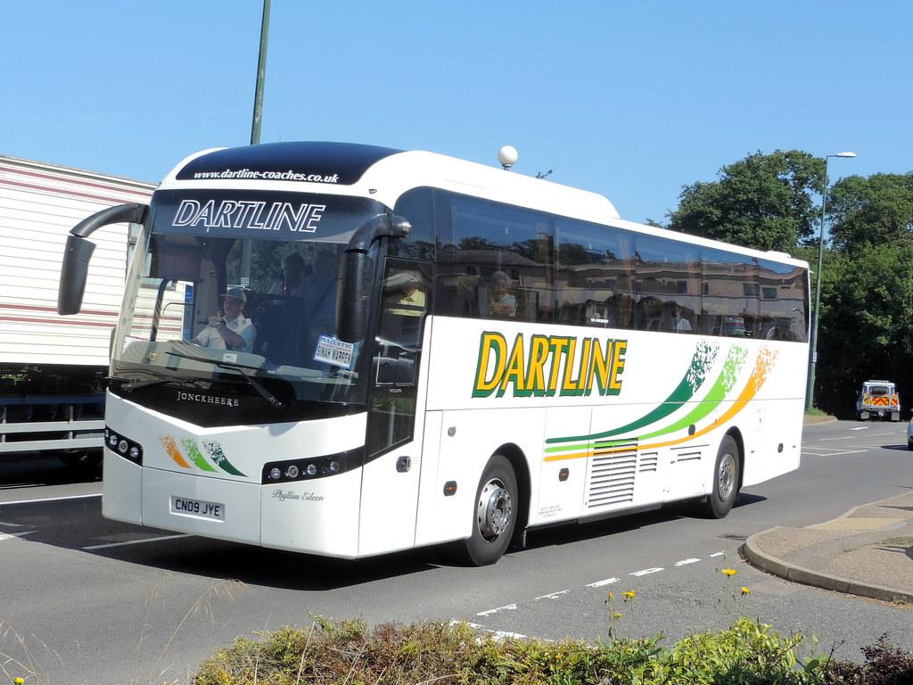 Dartline Coaches Volvo B12m Jonckheere Shv C53f Cn