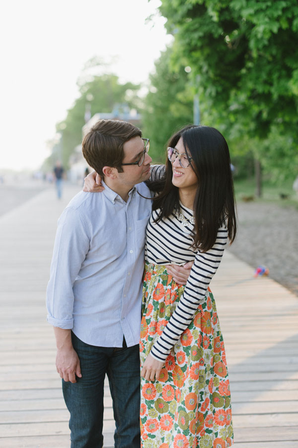 Celine Kim Photography Kew Beaches Toronto engagement session with dog-19
