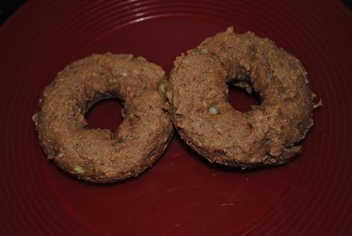 Banana Bread Baked Doughnuts