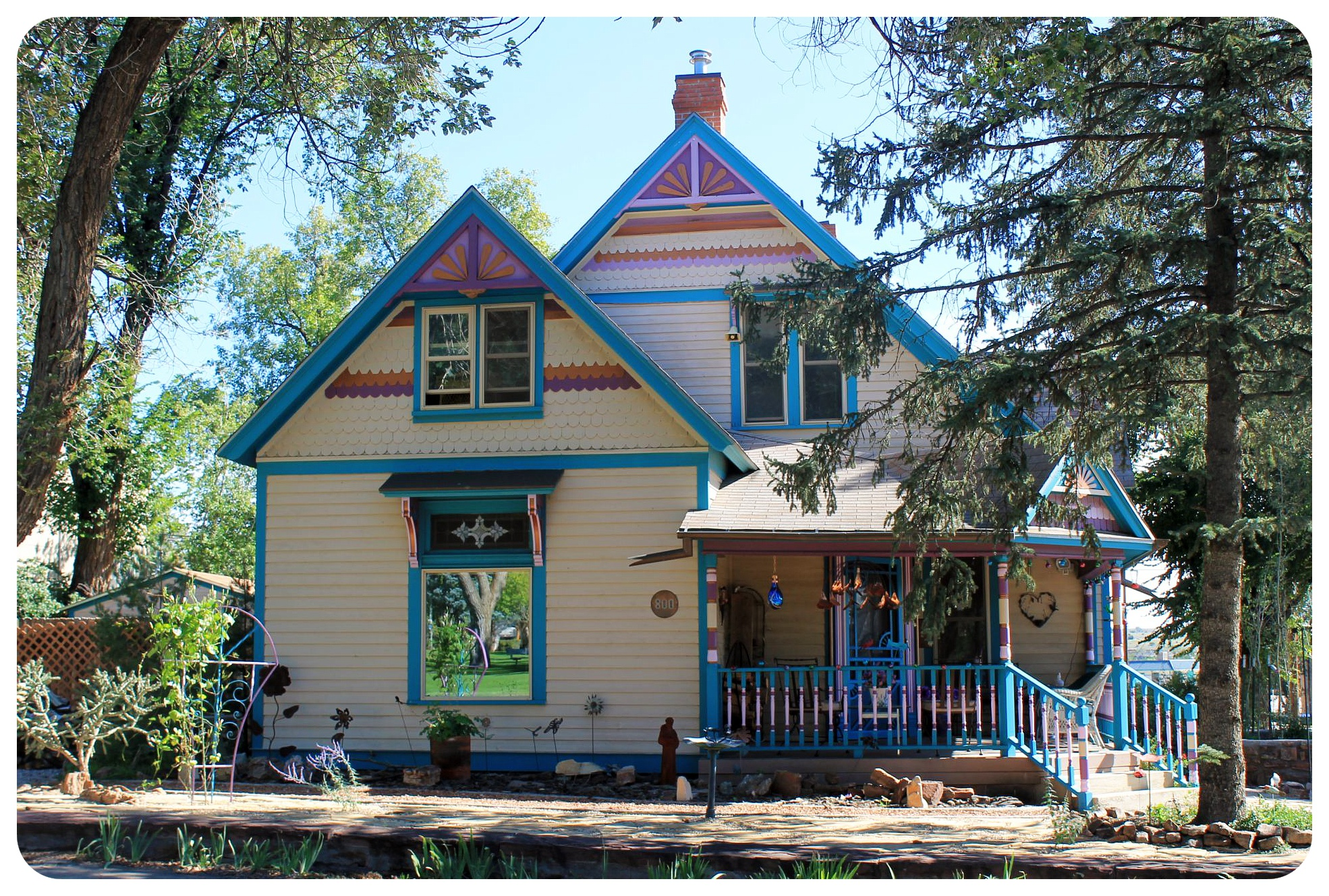 las vegas new mexico victorian house