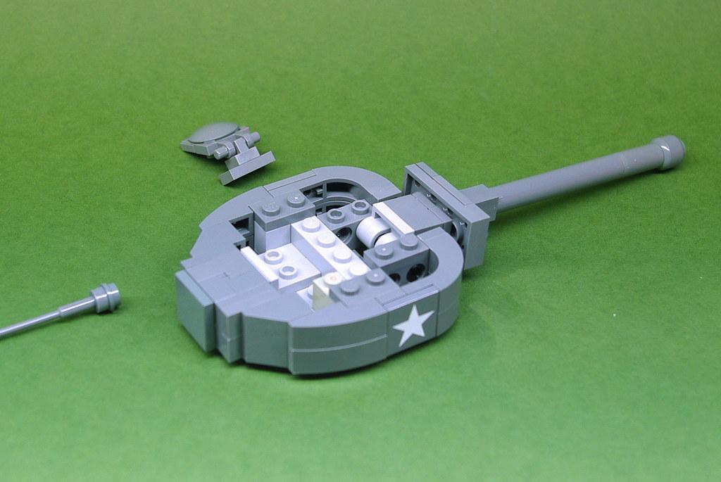 lego sherman tank instructions