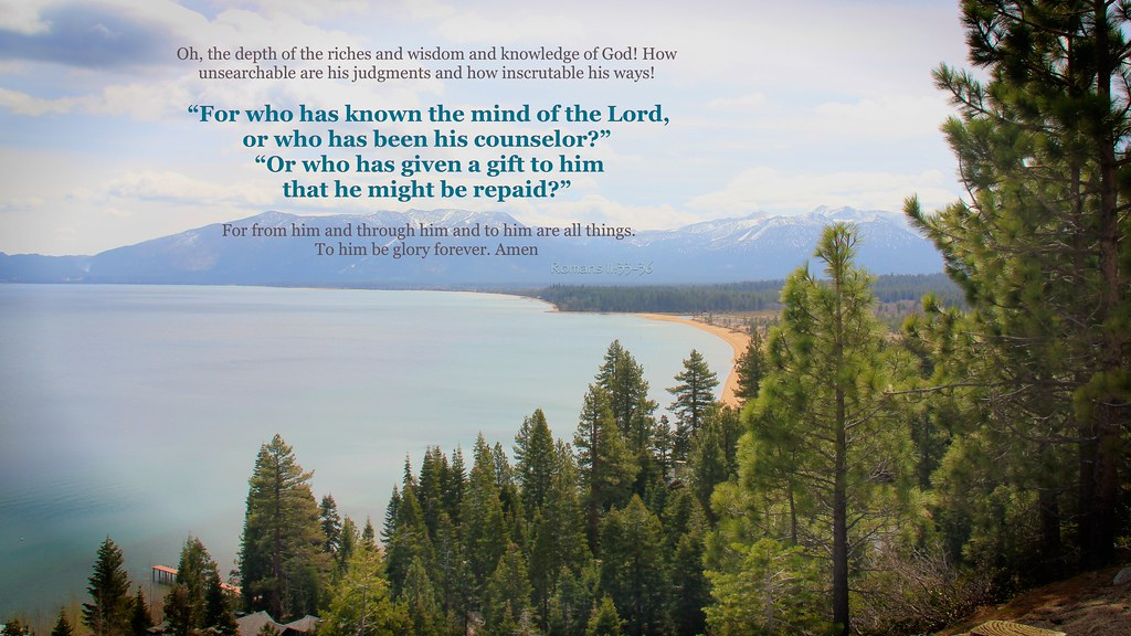 the mind of god romans 113336 praise the father
