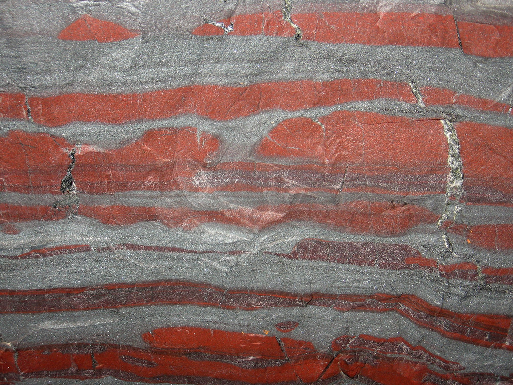 Jaspilite Banded Iron Formation Bif Vulcan Iron Formati