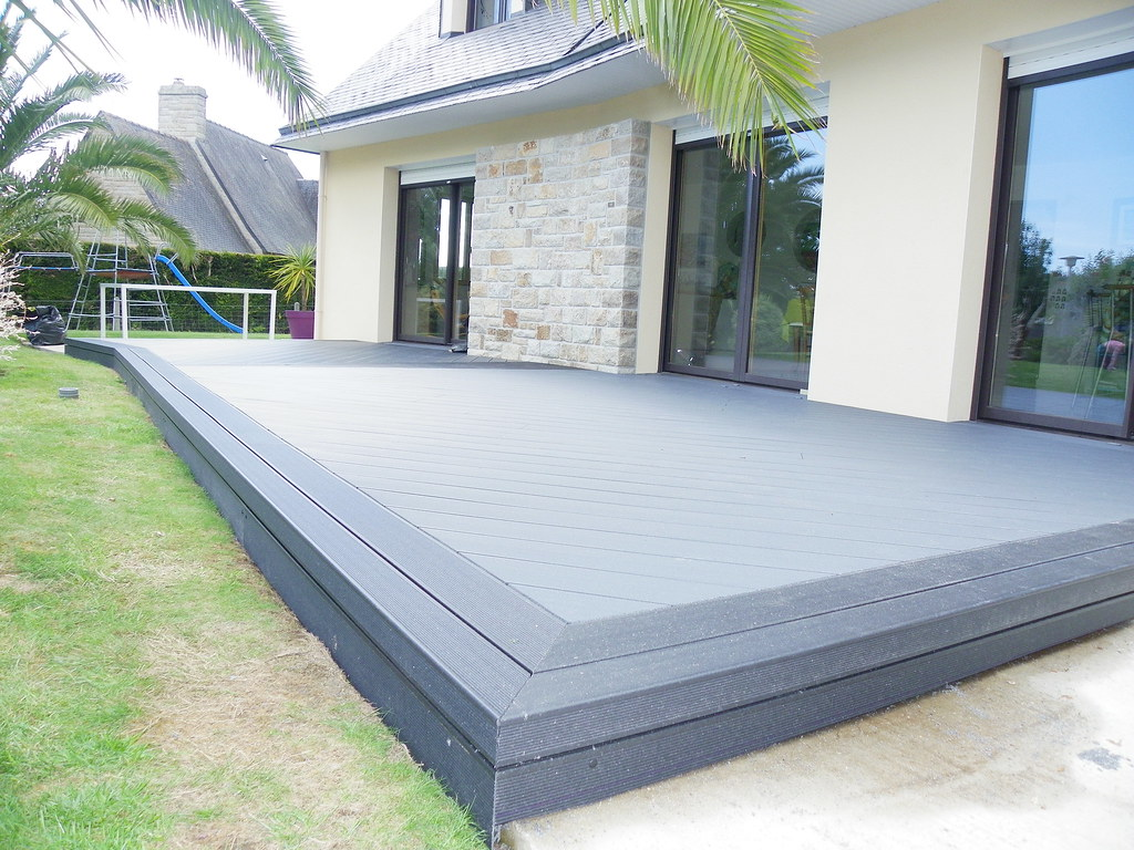 upm profi deck et rail step in france 2 upm profi deck. Black Bedroom Furniture Sets. Home Design Ideas