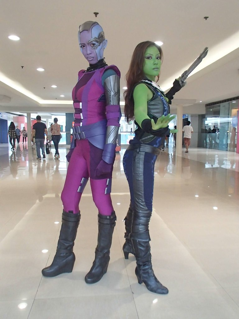 guardians nebula cosplay - photo #23