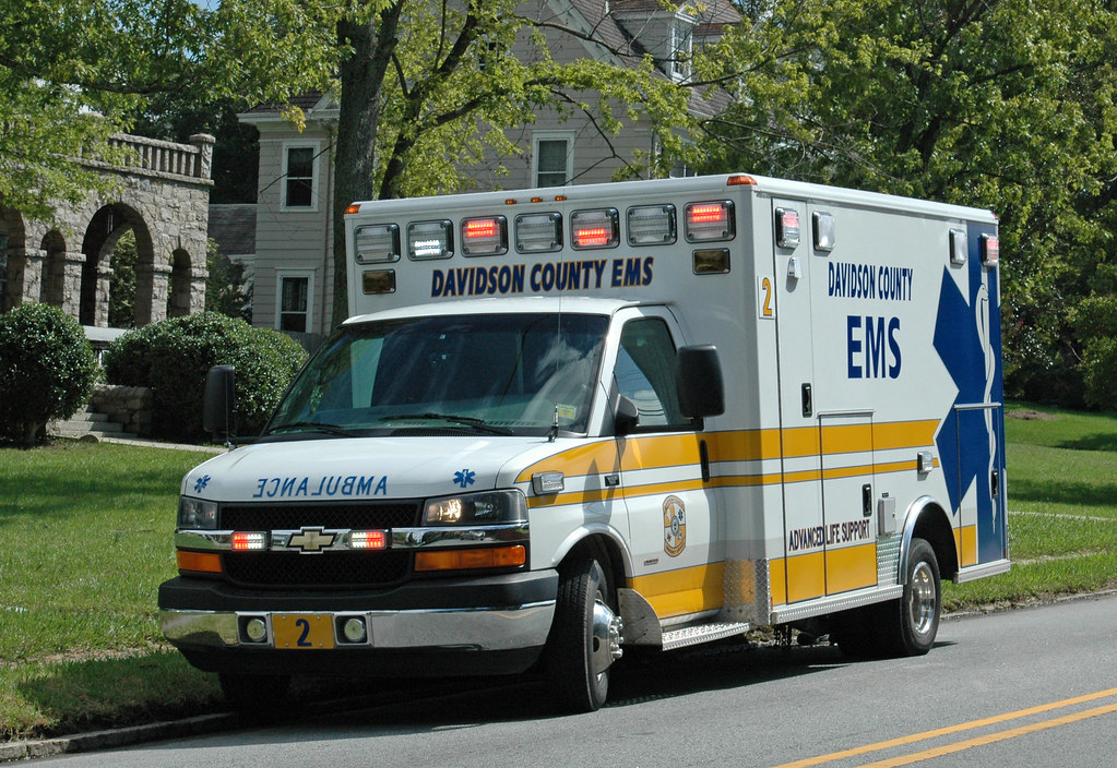 Davidson County EMS Chevrolet Ambulance | This unit was at ...