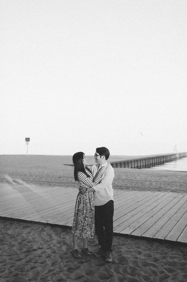 Celine Kim Photography Kew Beaches Toronto engagement session with dog-17