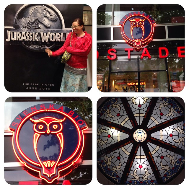 Jurassic World & Cinema Owly