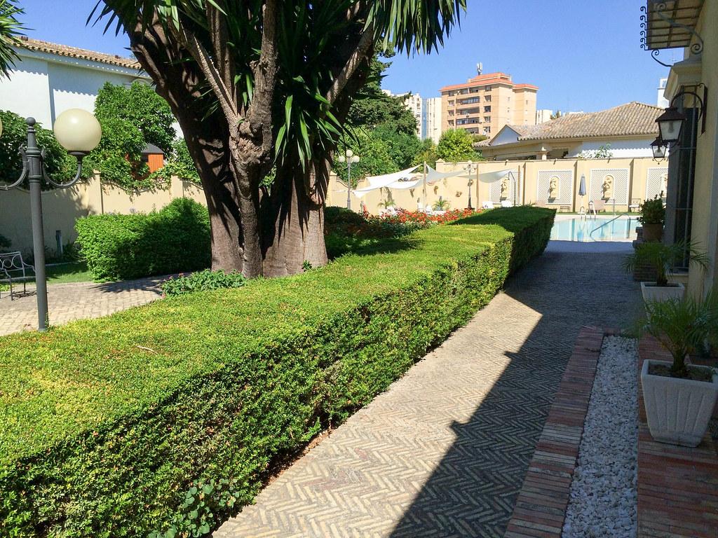Hotel villa de jerez jardines pablo monteagudo flickr for Villas de jardin port glaud