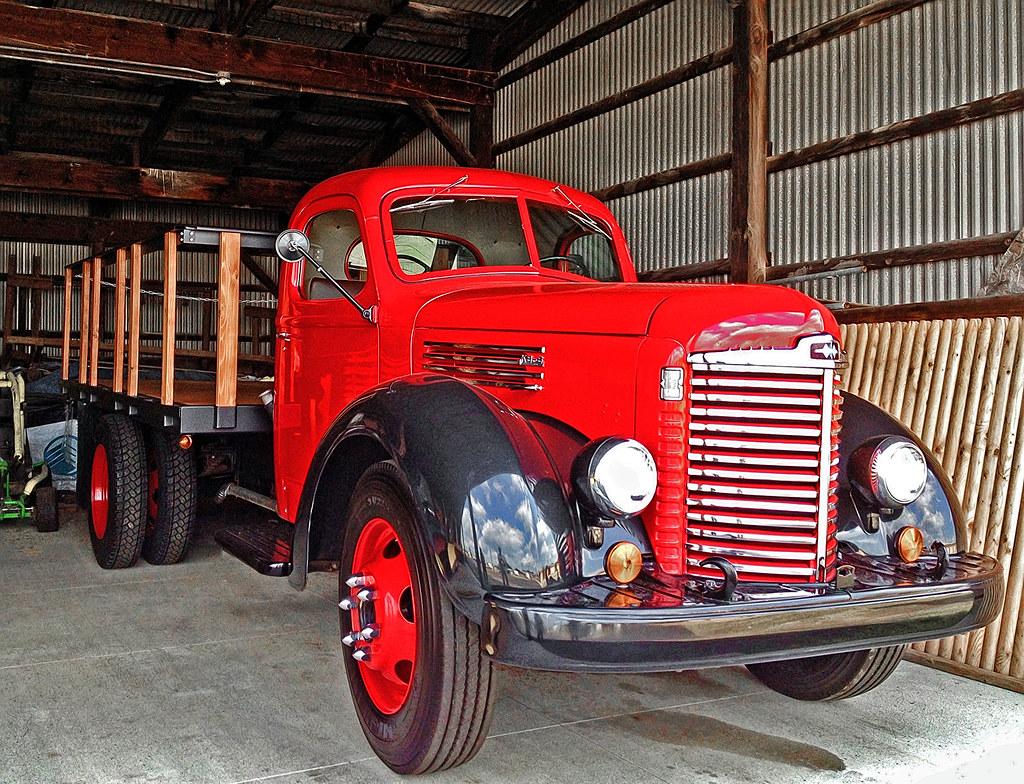1947 1949 Ih Kb 6 Heavy Truck Restored 1947 1949