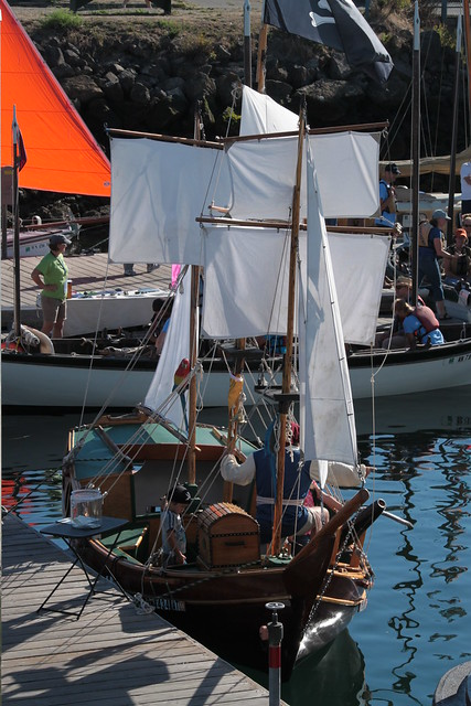 - Port Townsend WA - 2014 Wooden Boat Festival - kid's pirate ship